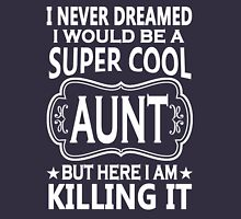 Super Cool Aunt Tshirts Womens Fitted T-Shirt