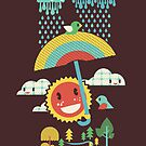 After the rain comes the rainbow by Budi Satria Kwan