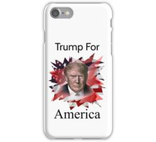 Donald Trump American Presidential Election 2016 iPhone Case/Skin