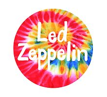 Led Zeppelin Tie Dye by ZoSo6