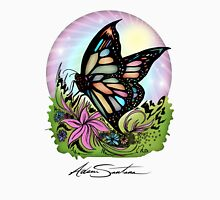 Butterfly Serenity Womens Fitted T-Shirt