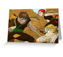 Raiden Legacy - Autumn Ninjas Greeting Card