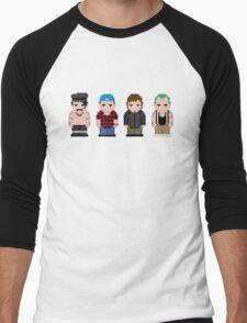 Red Hot Chili Peppers Pixel Art Men's Baseball ¾ T-Shirt