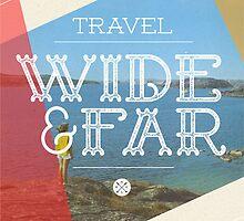 Travel Wide & Far by Hannahkaypiche