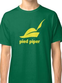 Pied Piper T-Shirt (Green/Yellow) Classic T-Shirt