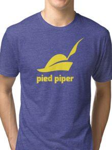 Pied Piper T-Shirt (Green/Yellow) Tri-blend T-Shirt