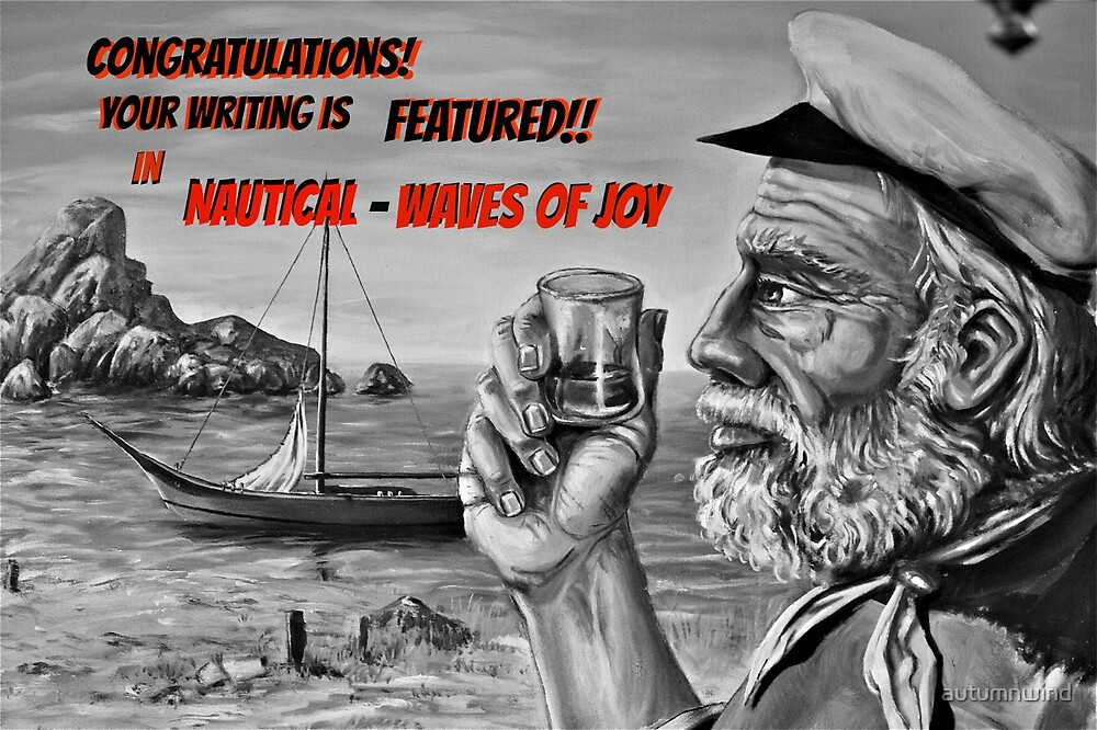 Writing Feature Banner Nautical Waves of Joy by autumnwind