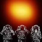 Three Monkeys version 5 by Ieuan  Edwards