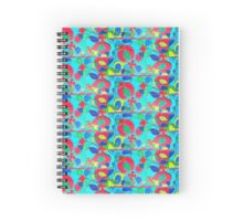Puzzled Chaos Spiral Notebook