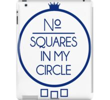 No Squares Yankee Blue iPad Case/Skin