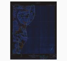 USGS TOPO Map Alabama AL Hollingers Island 305606 1944 31680 Inverted One Piece - Long Sleeve