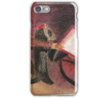 Artistic ferret  iPhone Case/Skin