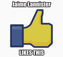 Jaime Lannister Likes This! Kids Clothes