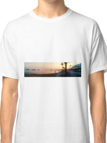Paphos Harbour at Sunset Classic T-Shirt