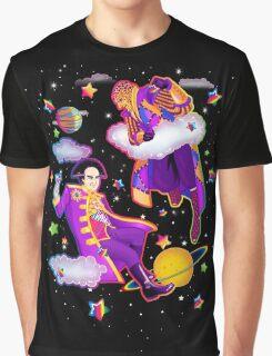 Lisa Frank Babylon 5 Londo Mollari and G'Kar  Graphic T-Shirt
