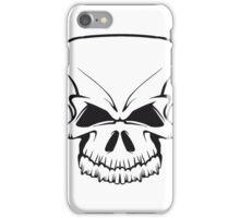 Skull evil iPhone Case/Skin