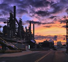 Sunrise At Steelstacks by DJ Florek