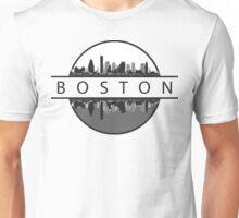 Boston Massachusetts Skyline Unisex T-Shirt