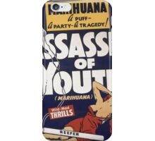 Marihuana Assassin of Youth iPhone Case/Skin