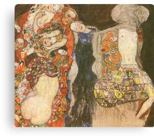 The Bride by Klimt Canvas Print