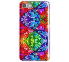 Psychedelic Abstract colourful work 30(Tile) iPhone Case/Skin