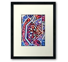 Mosaic Design Framed Print