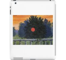 The Banquet by Magritte iPad Case/Skin