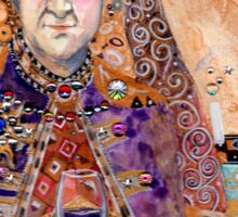 seeing - Klimt Londo Mollari Sticker