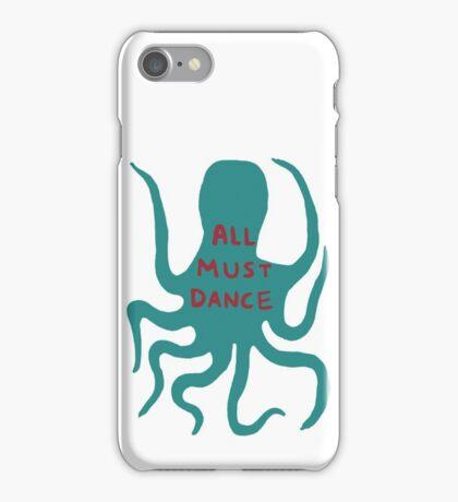 All must dance iPhone Case/Skin