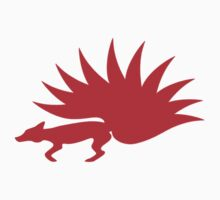 NARUTO: Nine-Tails Kurama Star Fox Logo - Red by garrison105