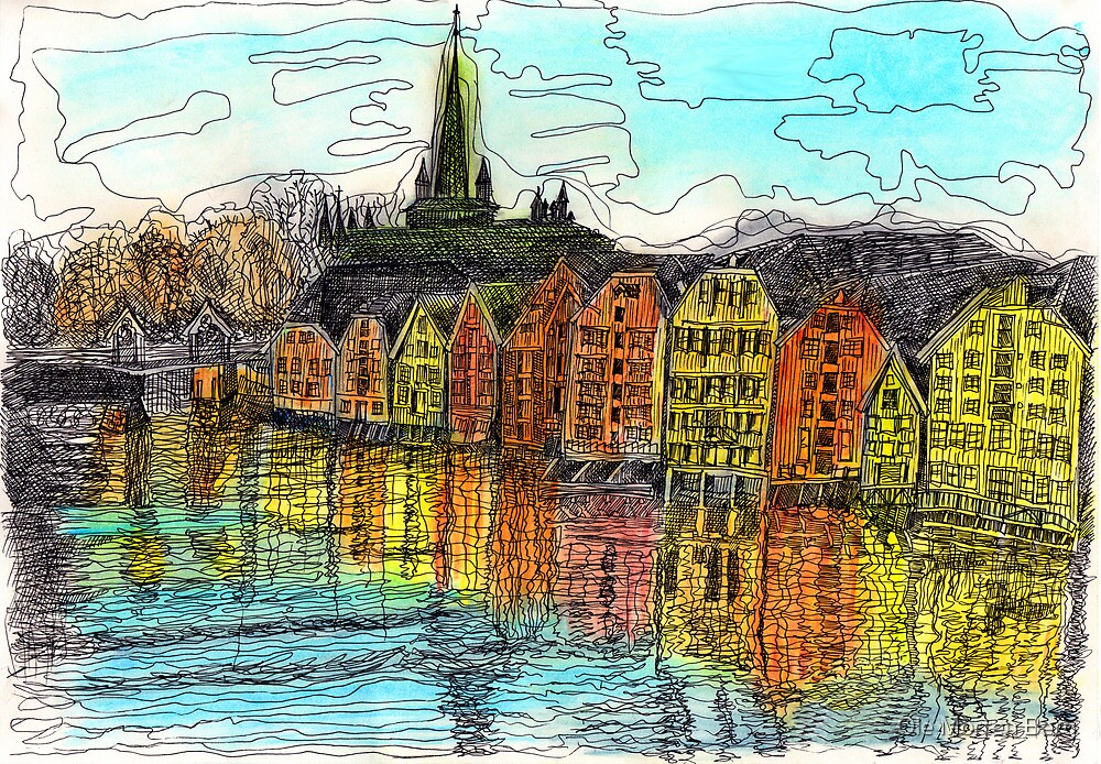 Trondheim, Norway by Ole Morten Berg