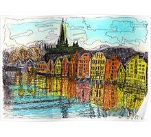 Trondheim, Norway Poster