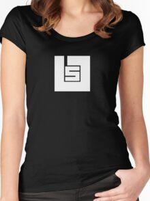 SadTech Logo (Light) - Continuum Women's Fitted Scoop T-Shirt