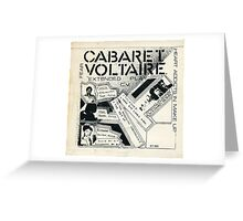 cabaret voltaire extended play Greeting Card