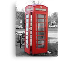 Old phonebox Canvas Print