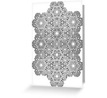 Hex Pattern 1 Greeting Card