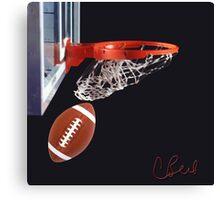 Foot Basket Canvas Print
