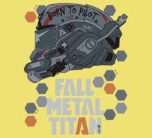 Fall Metal Titan Kids Clothes
