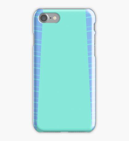Blue stripey iPhone Case/Skin
