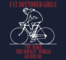 fat bottomed girls by verde57