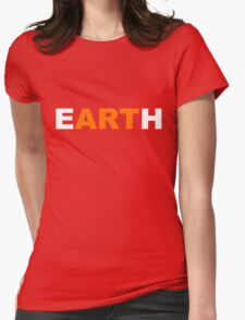 eARTh Womens Fitted T-Shirt