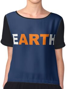 eARTh Chiffon Top