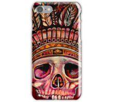 Indian skull iPhone Case/Skin