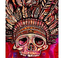 Indian skull Photographic Print