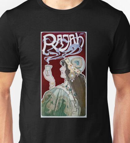 Rajah by Henri Privat-Livemont (Reproduction) Unisex T-Shirt