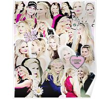 Jennifer Morrison Collage Poster