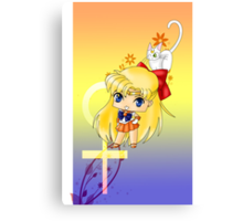 Chibi Sailor Venus Canvas Print