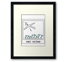 War Crime Framed Print