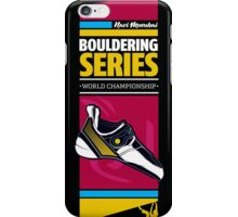 Bouldering world cup series_India iPhone Case/Skin