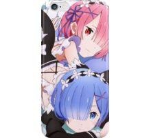 Re:Zero kara Hajimeru Isekai Seikatsu - Rem & Ram iPhone Case/Skin